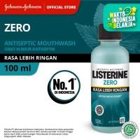 LISTERINE® ZERO Mouthwash / Obat Kumur 100ml