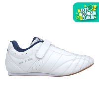 Sepatu Fans New X-Trial W Putih Biru Dongker - 37