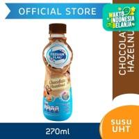 Frisian Flag Susu UHT Chocolate Hazelnut Botol 270ml