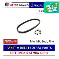 PAKET V-BELT Federal Parts untuk Mio, Mio Soul, Fino