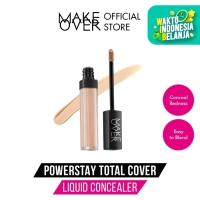 MAKE OVER Powerstay Total Cover Liquid Concealer - 03 Medium