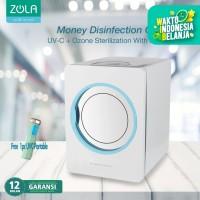 Zola Banknote Disinfection Cabinet Box UV-C Sterilizer & Hot Air Dryer