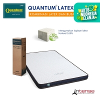 Quantum Latex Topper 9cm Intense Mattress - Kasur Springbed Spring Bed - 90 x 200