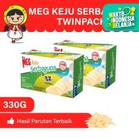 MEG Keju Serbaguna 165 - Twin Pack