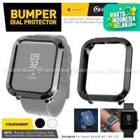 SIKAI BUMPER PLATING Case Screen Protector Amazfit BIP / LITE Cover - BLACK