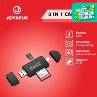 JOYSEUS 3 in 1 OTG Card Reader Type C & micro USB High-speed - KP0015