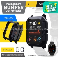 SIKAI BUMPER PLATING Case Screen Protector Amazfit GTS Plate Cover