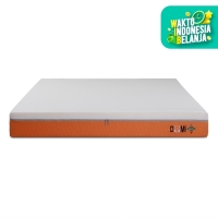 Domi Mattress Dual Comfort 180 x 200 Kasur Busa Dua Tingkat Soft Firm