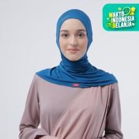 Zoya Inner Kerudung Ciput Hijab - Ciput Rising Star Manacron Blue