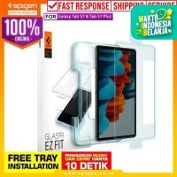 Tempered Glass Samsung Galaxy Tab S7/S7 Plus Spigen Glas tR EZ Fit - Tab S7