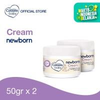 Cussons Baby Newborn Cream 50gr Twin Pack