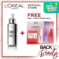 L'Oreal White Perfect Clinical Serum Get Free Pro Youth Mask (x3)