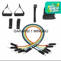 POTENCE 11 IN 1 PRO RESISTANCE BAND SET FITNESS GYM PILATES YOGA