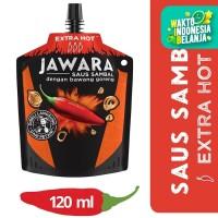 Jawara Saus Sambal Bawang Goreng Extra Hot Pouch 120Ml