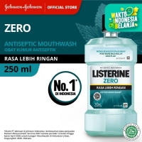 LISTERINE® ZERO Mouthwash / Obat Kumur 250ml
