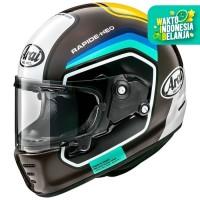 Arai SNI Rapide Neo Number Helm Full Face - Brown