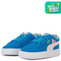 PUMA BOYS Sneakers Anak Laki-Laki Sesame Str 50 Suede Inf-501 - INDIGO B, 5