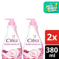 Citra Korean Pearls Mulberry Body Lotion Pearly White Uv 380Ml Twin