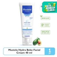 Mustela Hydrabebe Facial Cream 40 ml