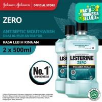 (DAPAT 2) LISTERINE® ZERO Mouthwash / Obat Kumur 500ml