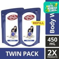 Lifebuoy Sabun Cair Mild Care Refill 450ml Twin Pack
