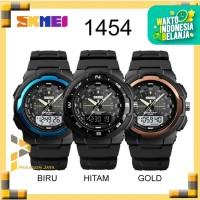 SKMEI Watch 1454 Jam Tangan Dual Time Sport Anti Air Original