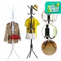 Stand Hanger / Gantungan Tiang Berdiri / Hanger Gantungan Baju Tas - Biru