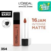 L'Oreal Lipstik Matte Infallible Pro-Matte Liquid Lip 354 Nudist
