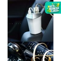 Original REMAX Smart Car Charger 3 USB Port and 2 Car Charger Port 5V
