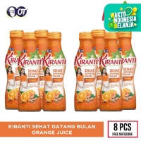 KIRANTI ORANGE JUICE [8 BOTOL] - FREE NOTEBOOK