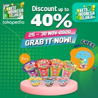 Vita Jelly Drink [Bundle 4 Pcs] + Vita Pudding [Bundle 3 Pcs] + TShirt