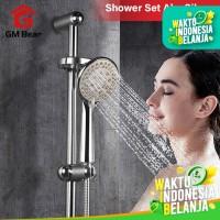 GM Bear Shower Set perlengkapan mandi Full set Silver isi 6