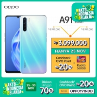 OPPO A91 Smartphone 8GB/128GB (Garansi Resmi)
