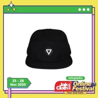 BASIC LOGO 5 PANEL CAP | TOPI VIBES