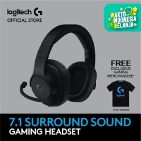 Logitech G433 7.1 Surround Gaming Headset - Black - Free Merchandise