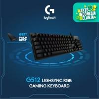 Logitech G512 RGB Mechanical Gaming Keyboard Tactile -Free Merchandise