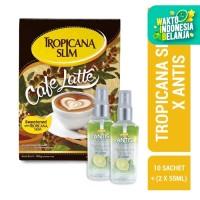Tropicana Slim Café Latte + Antis Jeruk Nipis 2x55ml