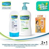 Cetaphil Baby Starter Kit [Free CDR isi 30 Tablet]