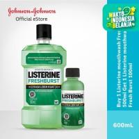 Buy 1 Get 1 LISTERINE Mouthwash Fresh Burst 100ml
