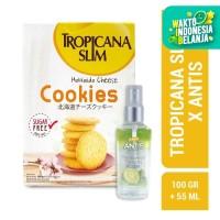 Tropicana Slim Hokkaido Cheese Cookies 5 Sch + Antis Jeruk Nipis 55ml