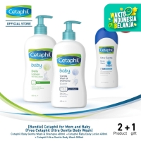 [Bundle] Cetaphil for Mom and Baby (Free Cetaphil Ultra Body Wash)