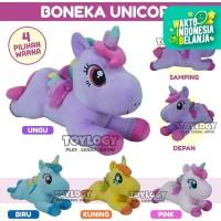 Mainan Anak Boneka Lying Unicorn Clasie Kuda Pony Horse Plush Doll