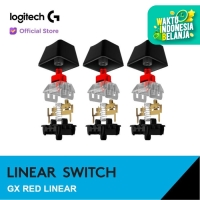 Logitech GX Switch Mechanical Keycaps - Red Linear