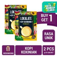 Buy 1 Get 1 FREE: Lokalate Kopi Berondong (10 Sch) - Popcorn Latte