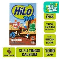 HiLo Teen Chocolate 1000gr - Susu Tinggi Kalsium