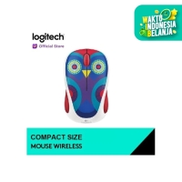 Logitech M238 - Owl Wireless Mouse