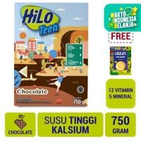 HiLo Teen Chocolate 750gr FREE Lokalate Kopi Alpukat (10 Sch)
