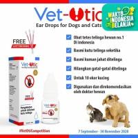 Obat Tetes Kutu Telinga Vet Otic Untuk Anjing Kucing Kelinci