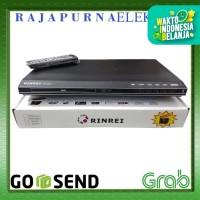 DVD PLAYER RINREI BESI DRN-566D Optik Samsung ORIGINAL - Hitam