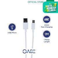 OASE Kabel Data Original OPPO Android White DL118 (Garansi Resmi)